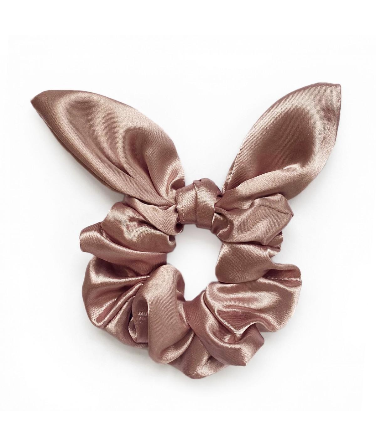 Gumka do włosów - pudrowy róż