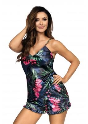 Piżama satynowa Katie 02 -  DONNA